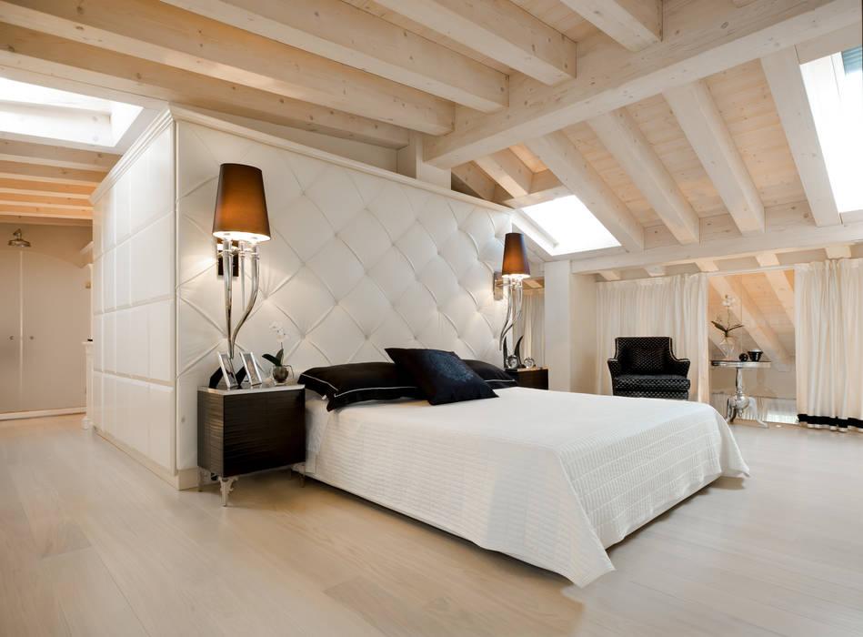 Foto di camera da letto in stile in stile eclettico for Camera matrimoniale in stile vittoriano