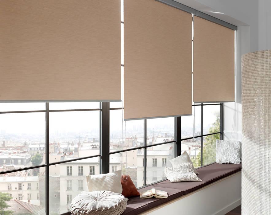 moderne fenster t r bilder rollos von erfal homify. Black Bedroom Furniture Sets. Home Design Ideas
