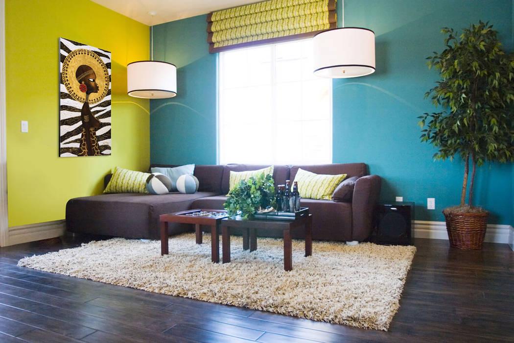 желтые обои для комнаты фото 45121