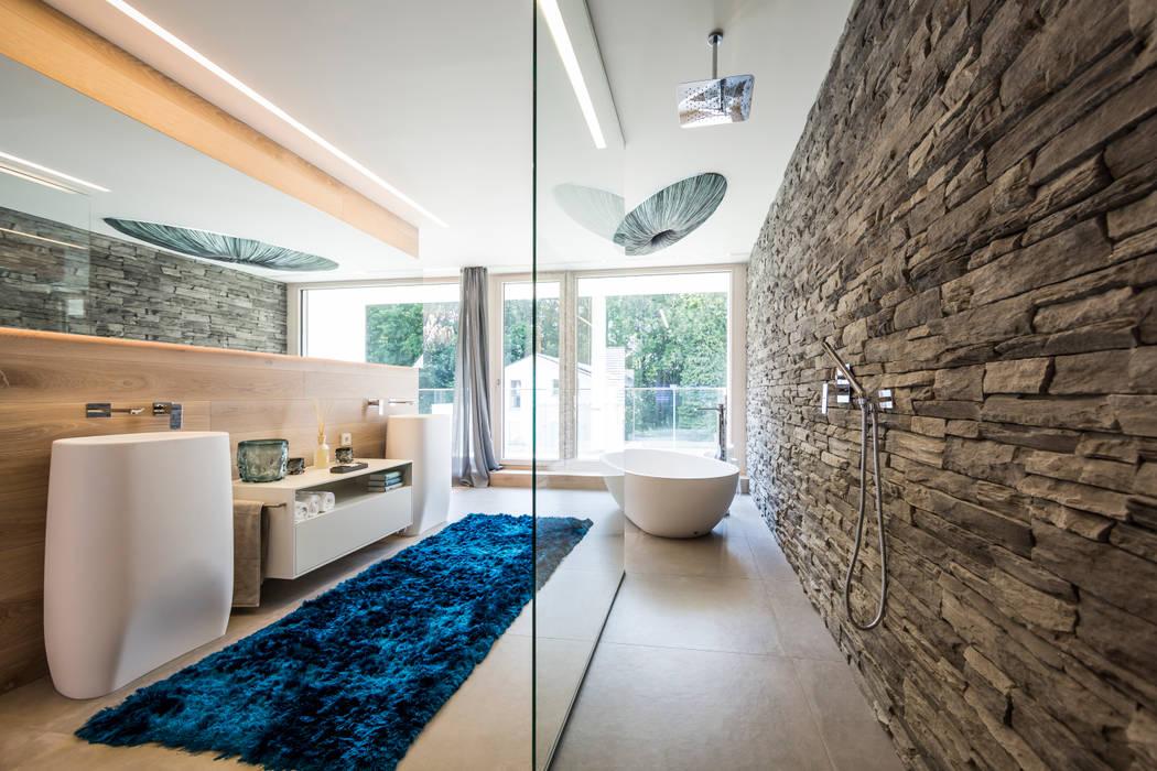modern Bathroom by Die HausManufaktur GmbH