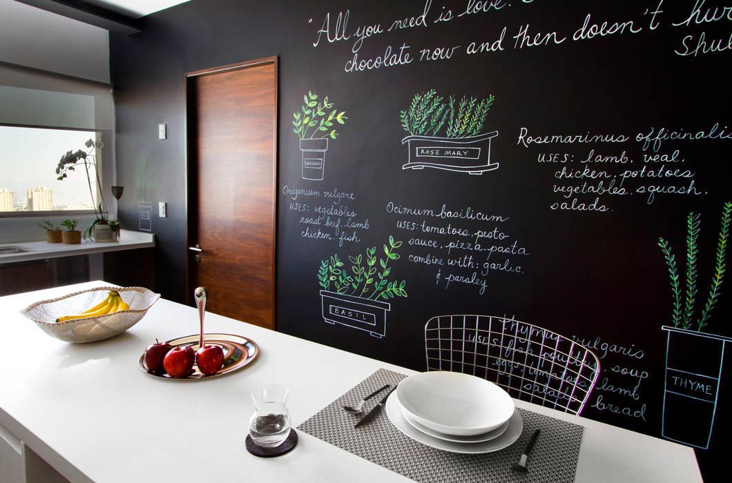 Fotos de cocinas de estilo moderno de concepto taller de for Tipos de cocina arquitectura