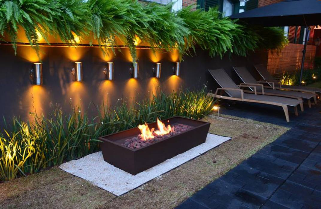 Fotos de jardines de estilo moderno de lightinox homify for Jardines modernos fotos