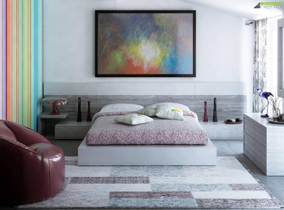 Foto di camera da letto in stile in stile moderno colore e relax camera matrimoniale homify - Camera da letto design moderno ...