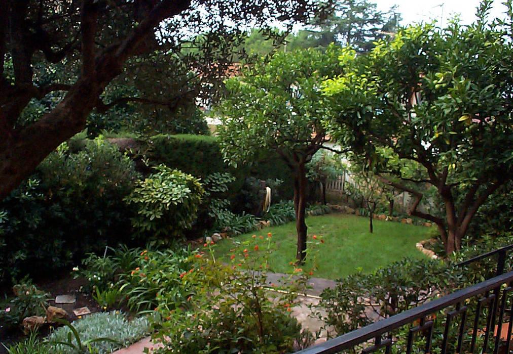 Foto di giardino in stile in stile mediterraneo giardino - Giardino mediterraneo ...
