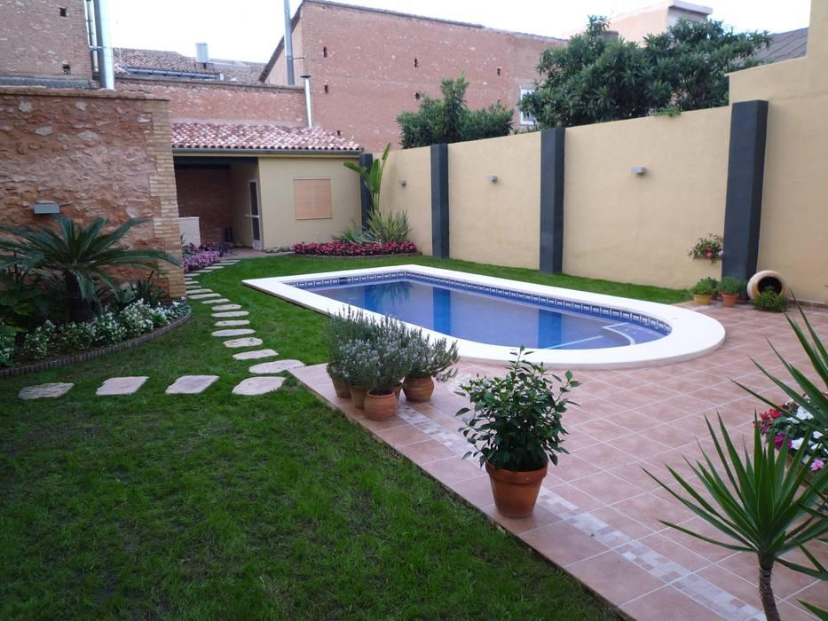 Fotos de piscinas de estilo moderno reforma integral - Reforma de casas ...