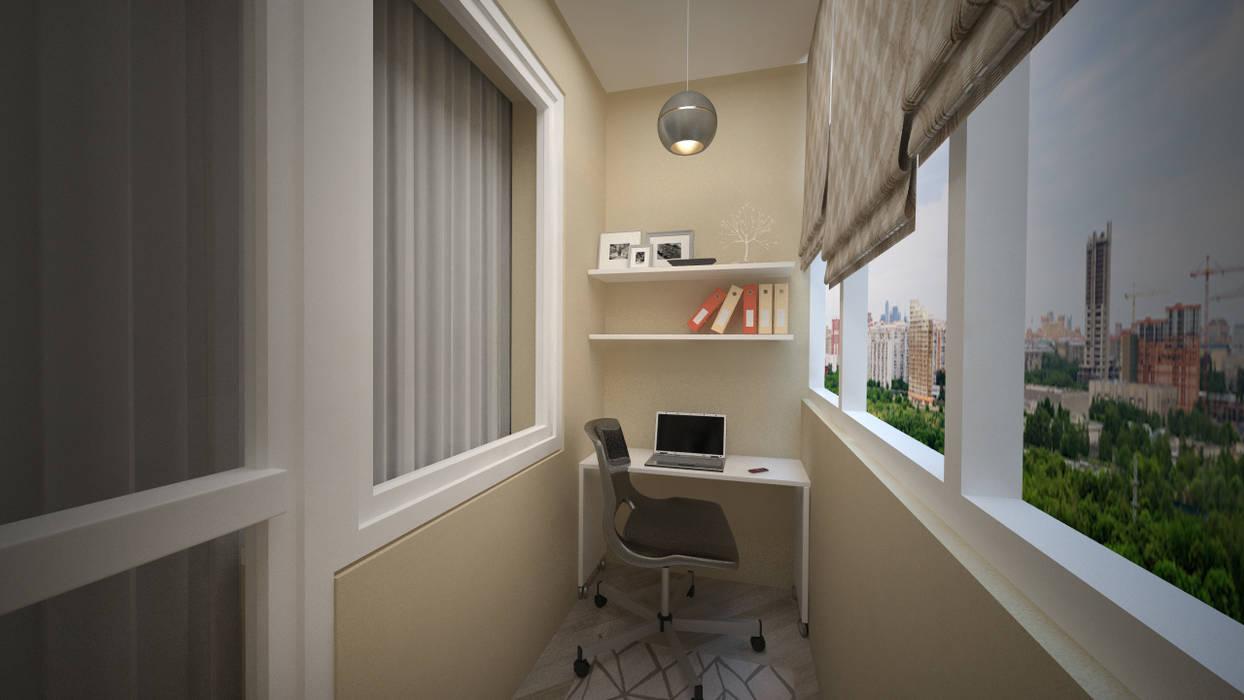 Проект: перепланировка однокомнатной квартиры в двухкомнатну.