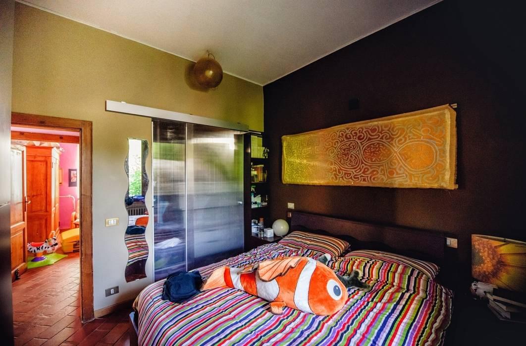 Foto di camera da letto in stile in stile eclettico in - Foto in camera ...