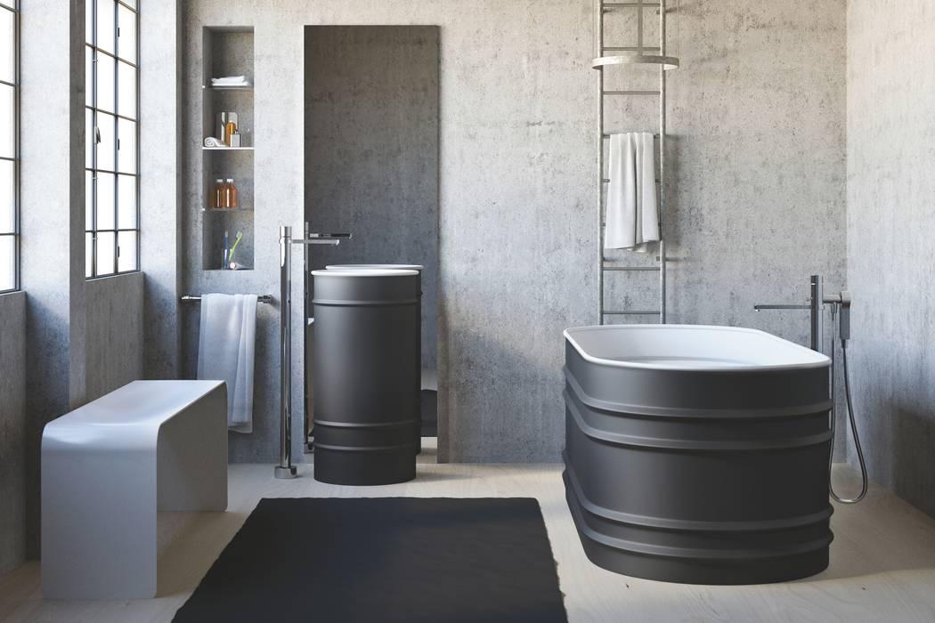 Bagno Tool: Bagno in stile in stile Industriale di Mamoli Rubinetteria