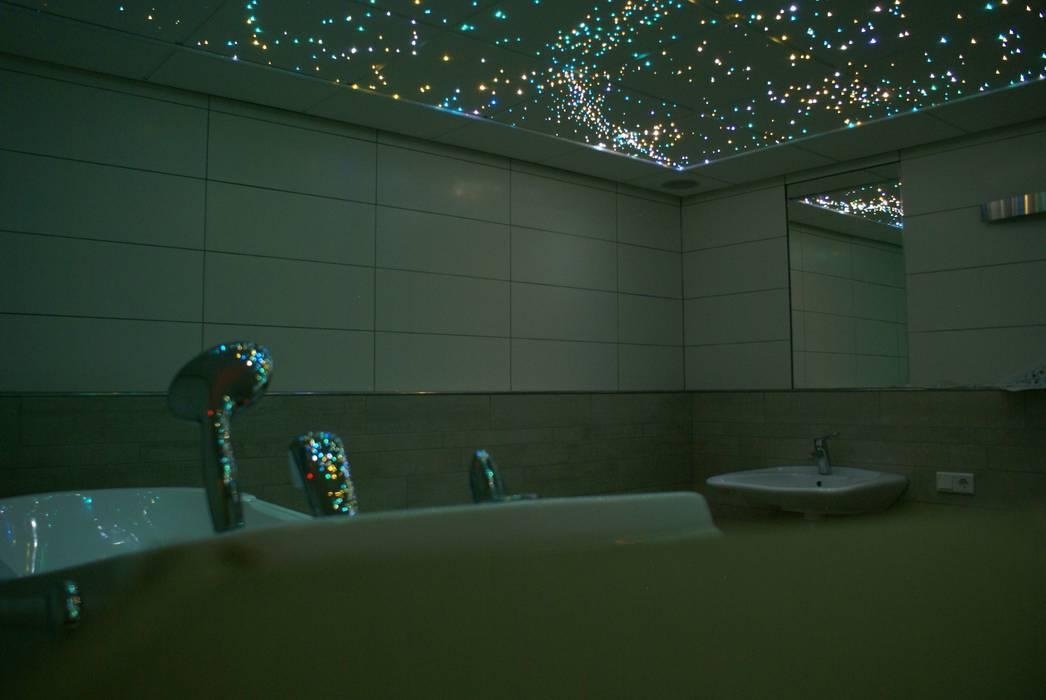 fotos van een mediterrane badkamer sterrenhemel