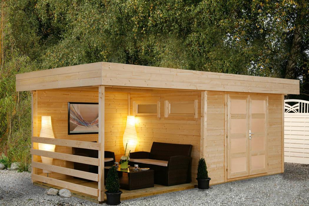 foto di giardino in stile in stile eclettico di gartenxxl. Black Bedroom Furniture Sets. Home Design Ideas