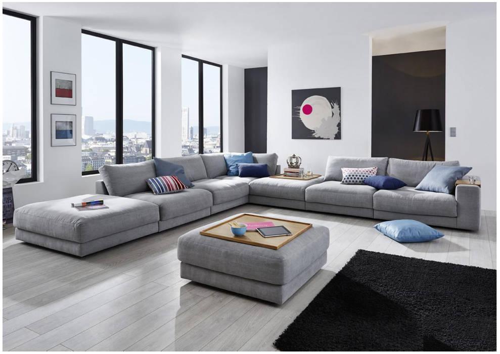 Foto di soggiorno in stile in stile minimalista di ...