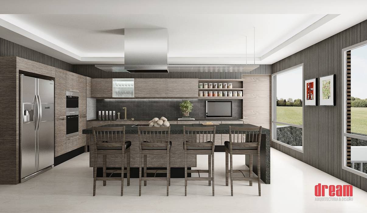 Fotos de cocinas de estilo moderno cocina homify for Como disenar mi cocina por internet