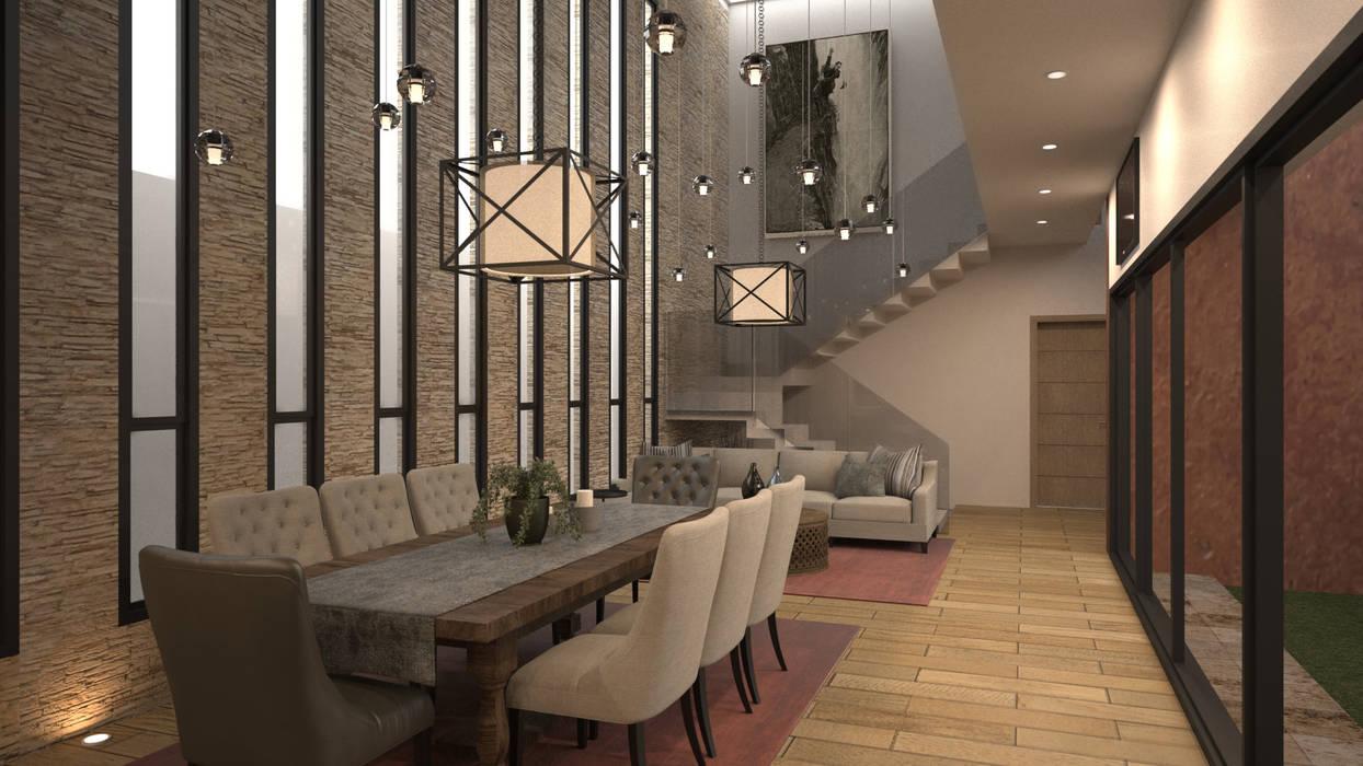 Fotos de comedores de estilo minimalista comedor y sala - Como decorar un comedor minimalista ...