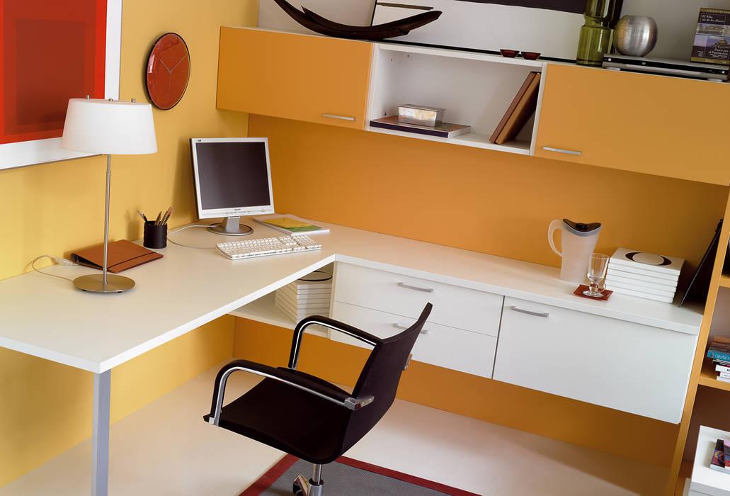 Zona estudio by muebles oyaga homify.