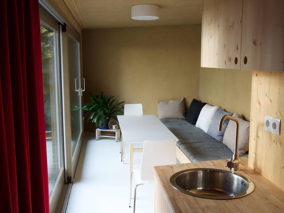 moderne wohnzimmer bilder ess und schlafbereich homify