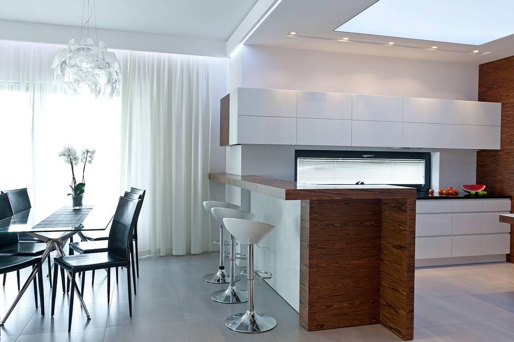 Fotos de cocinas de estilo moderno de biuro projektowe mtm for Cocinas estilo moderno