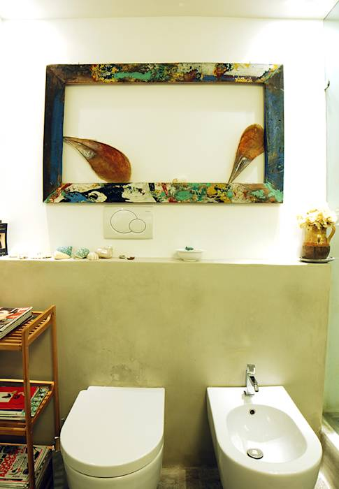 Foto di bagno in stile in stile mediterraneo casa for Bagno in stile mediterraneo
