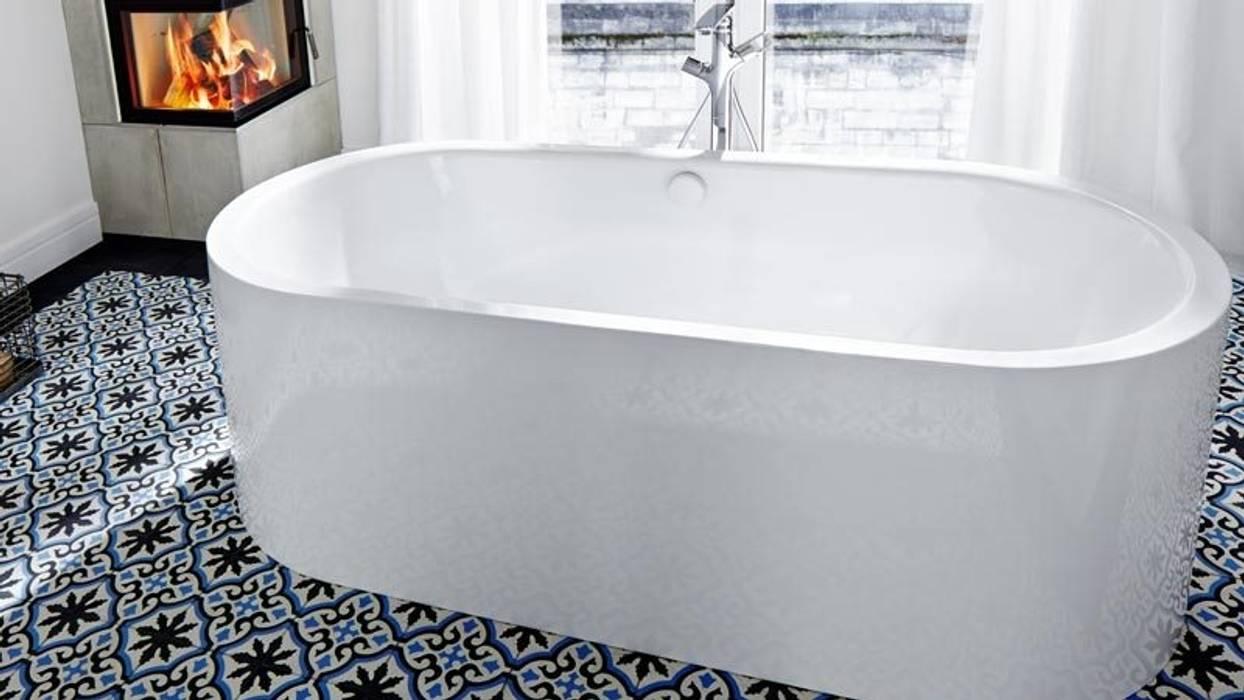 klassische badezimmer bilder: zementfliesen ref. 455   homify