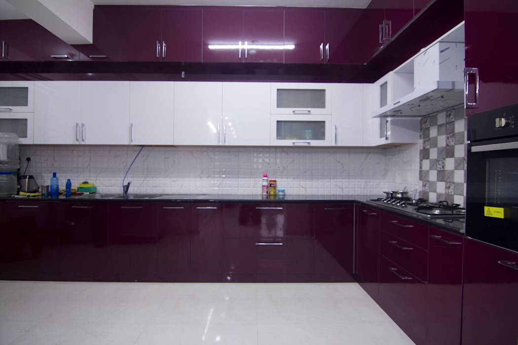 Asian kitchen photos modular kitchen designs homify for Modular kitchen bangalore designs