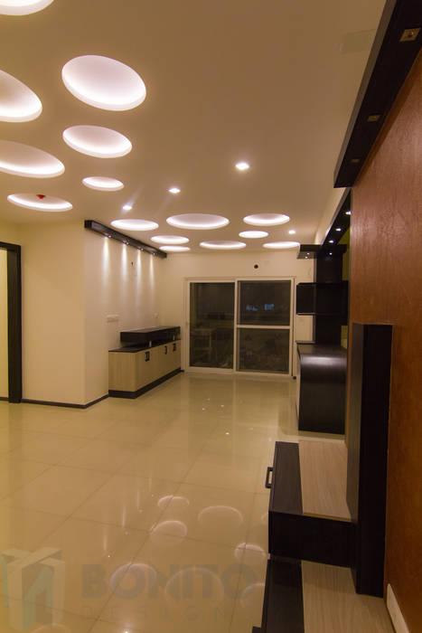 Asian dining room photos dining false ceiling design homify for Dining room false ceiling designs