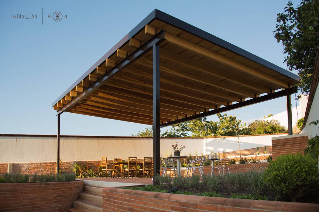 Fotos de jardines de estilo minimalista jard n terraza for Como hacer un jardin en una terraza