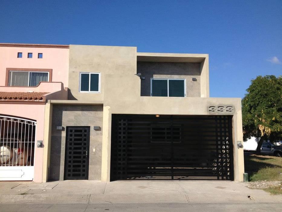 Fotos de casas de estilo moderno casa at homify - Decoracion de cocheras modernas ...
