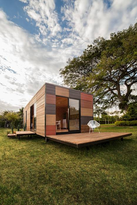 translation missing: id.style.rumah.modern Rumah by COLECTIVO CREATIVO