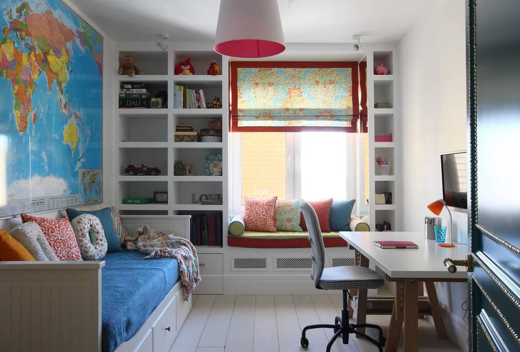 Дизайн детской комнаты в хрущевке: особенности оформления (+.