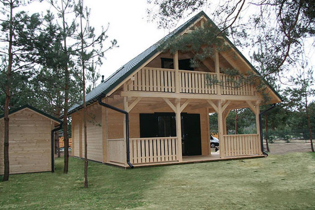 Foto di case in stile in stile scandinavo prefabbricati for Case modulari in stile bungalow