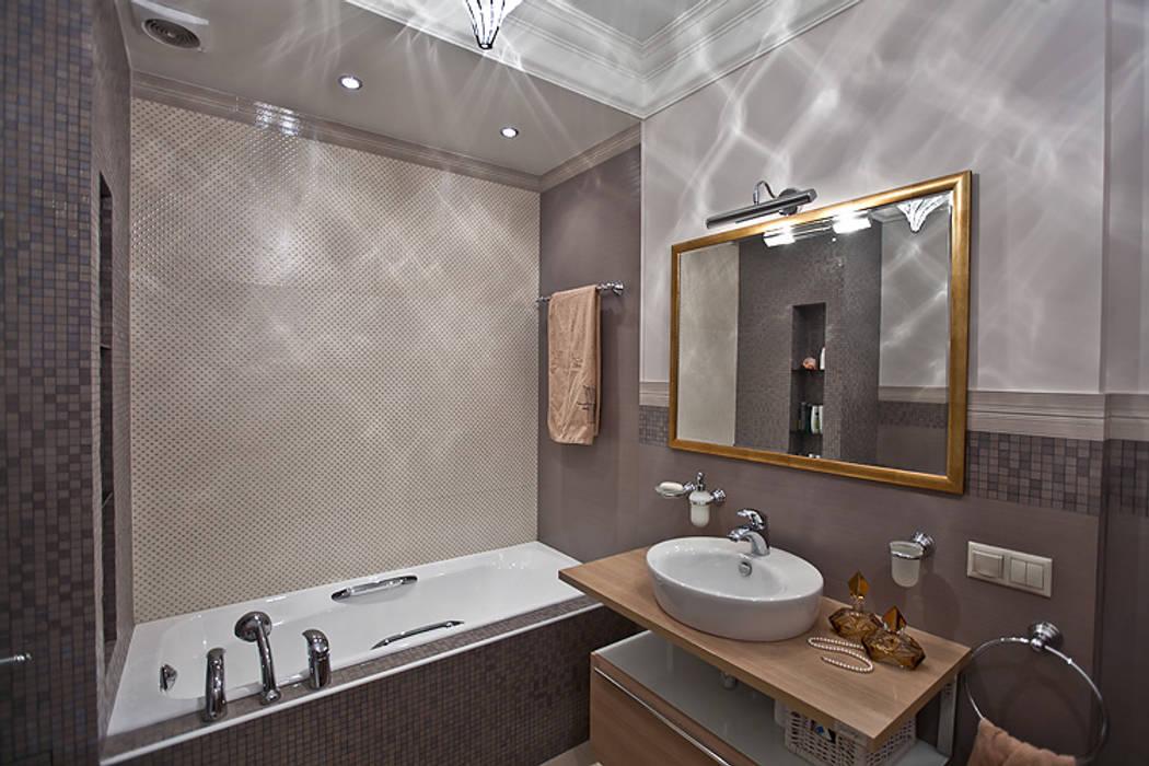 Ванные комнаты в хрущевке - фото дизайна интерьера