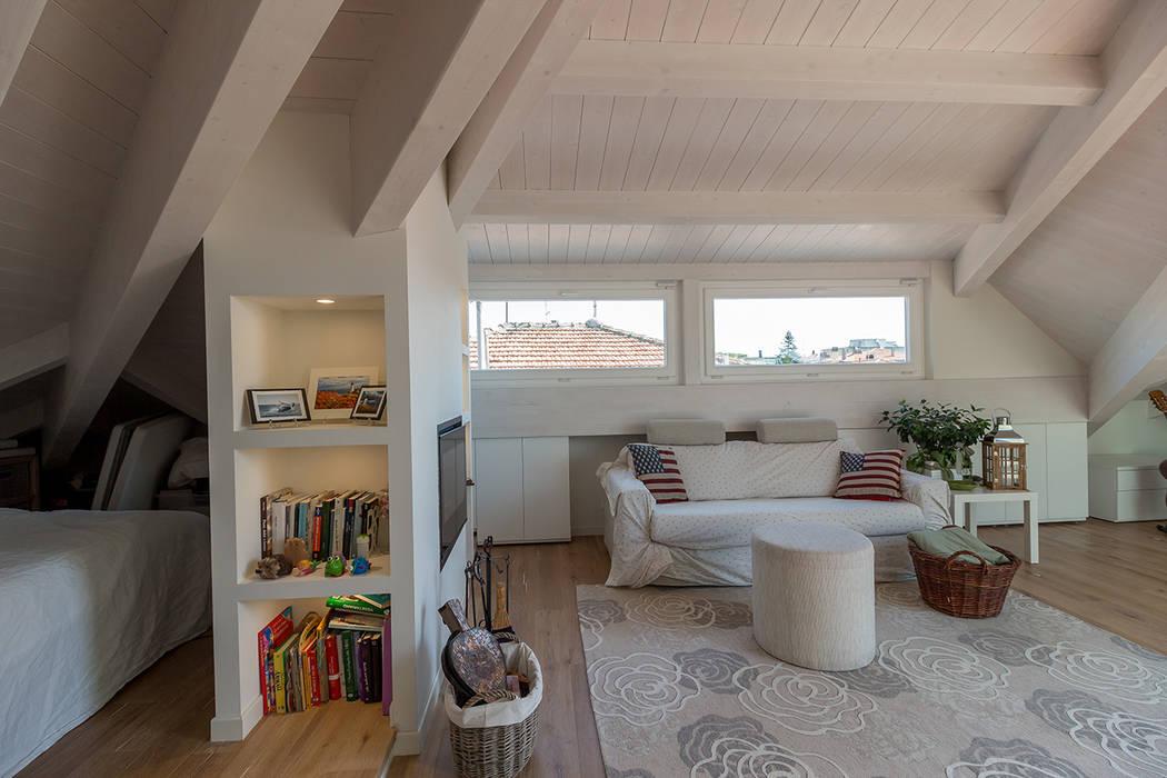 Foto di soggiorno in stile in stile moderno romantica for Soggiorno stile moderno