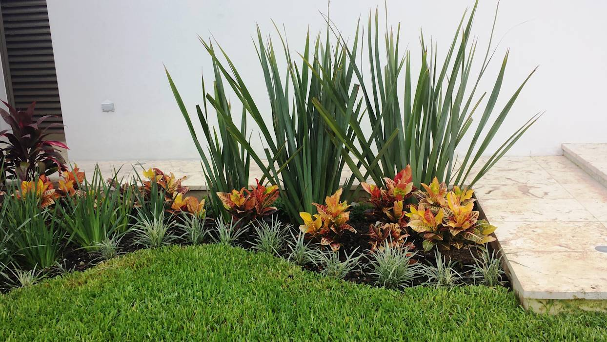 fotos de jardines de estilo moderno peque os rincones