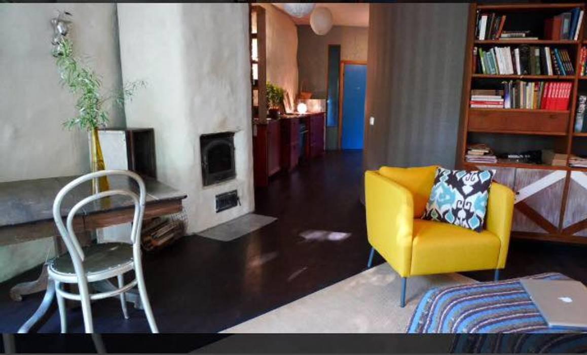 Moderne wohnzimmer bilder von eco house turkey saman   kerpic ev ...