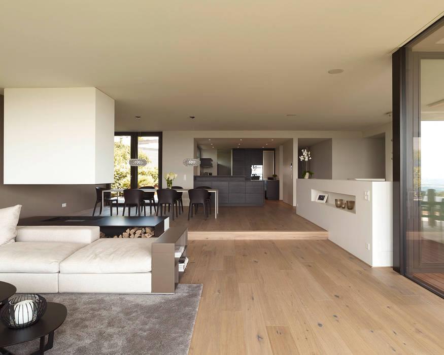 Moderne wohnzimmer bilder objekt 329 meier architekten for Architekten wohnzimmer
