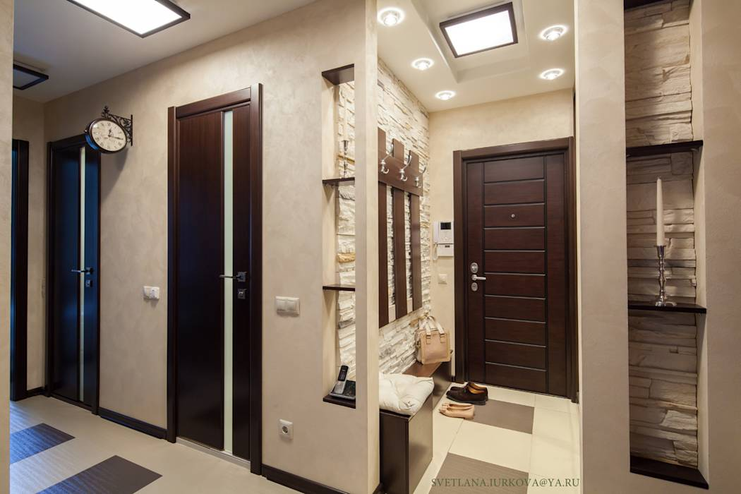 дизайн коридора двухкомнатной квартиры фото