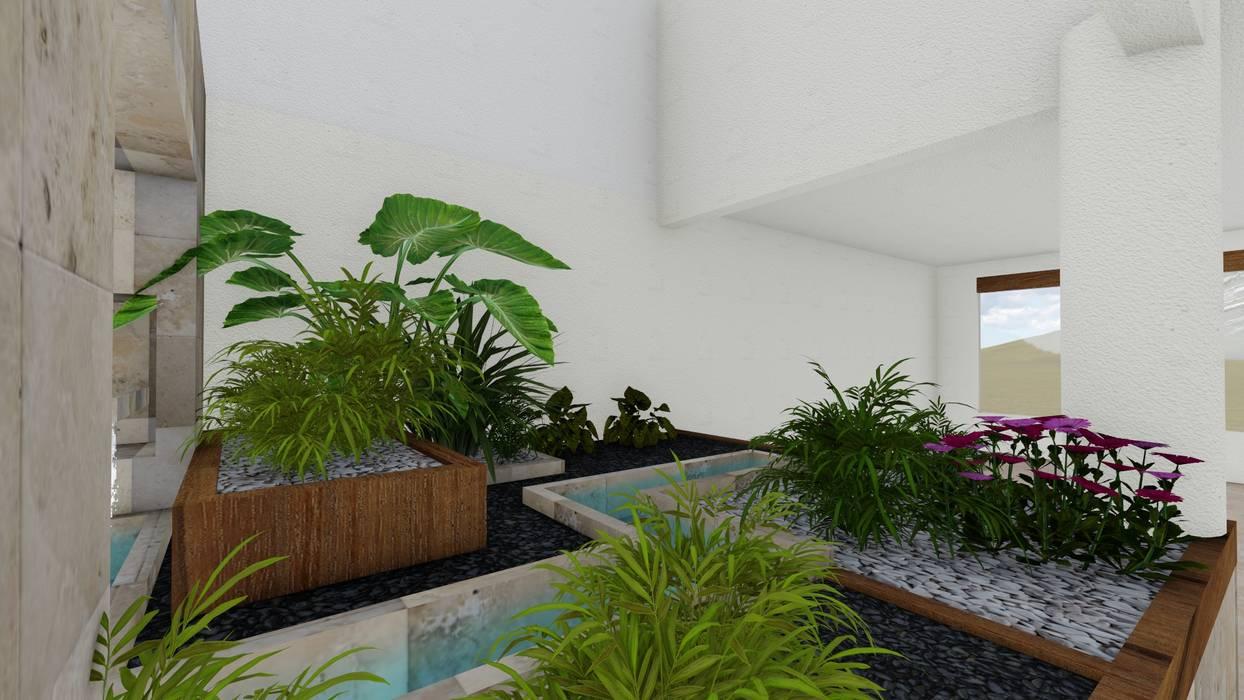Fotos de jardines de estilo minimalista jardin interior - Fotos de jardines minimalistas ...