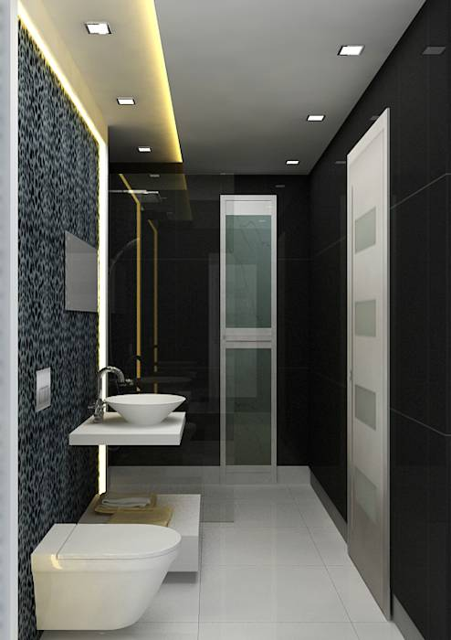 Interior Design: modern Bathroom by The Silversea