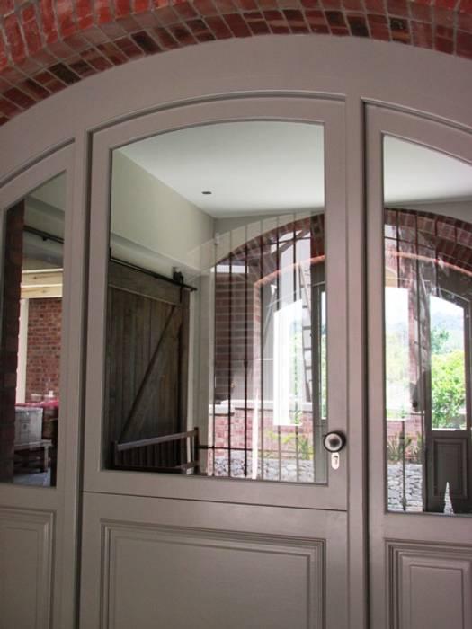 Arched Front Door + Side Lights : classic Windows & doors by Window + Door Store Cape