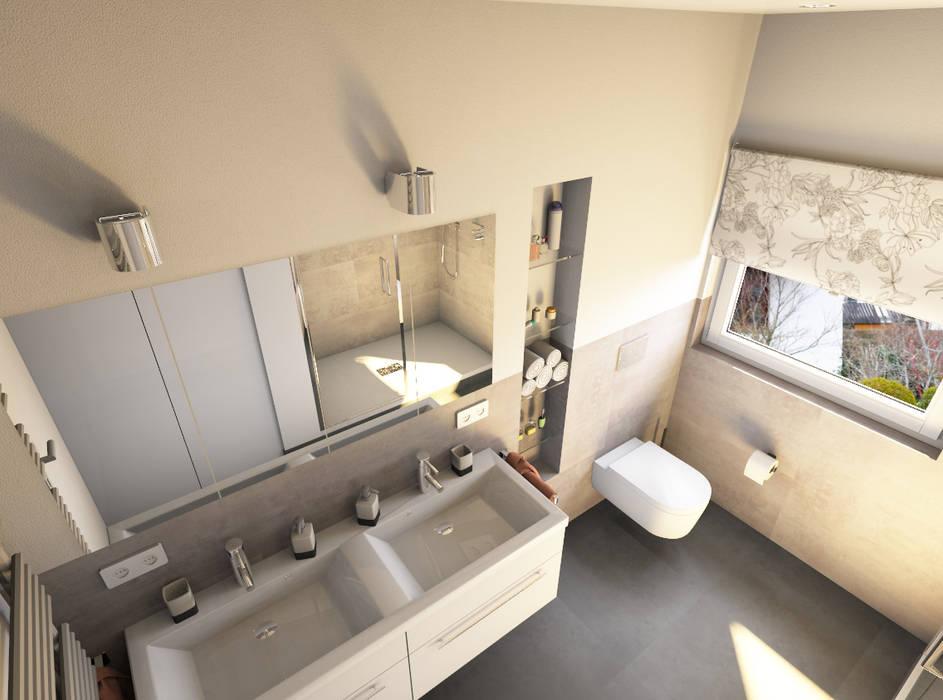 Schön Moderne Badezimmer Bilder: Das Komplette Badezimmer U2014 Zum, Badezimmer Ideen