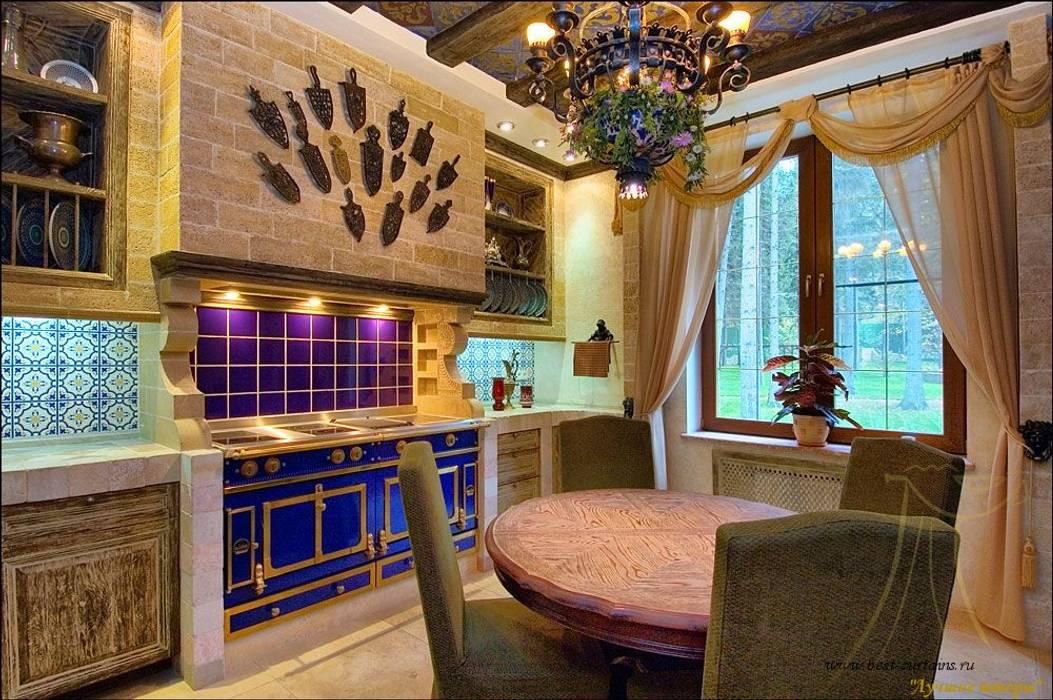 Интерьер кухни в частном доме: 45+ фото самых лучших ...