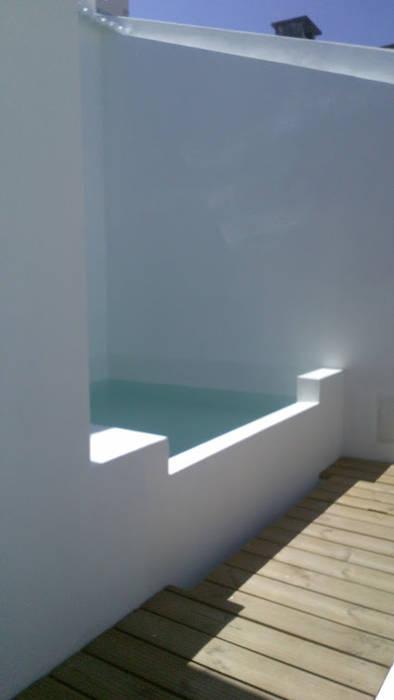 Fotos de piscinas r sticas casa em benavente homify for Piscinas benavente