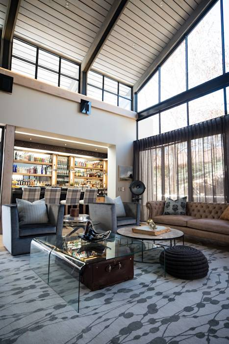 Eclectic living room photos upmarket home in johannesburg for Home decor johannesburg