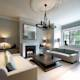 ​Sitting room Bedford Gardens house. : modern Living room by Nash Baker Architects Ltd