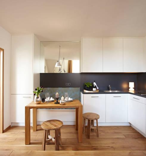 Tips Gezellige Keuken : Tips voor de Inrichting van een Gezellige Eenkamerappartement