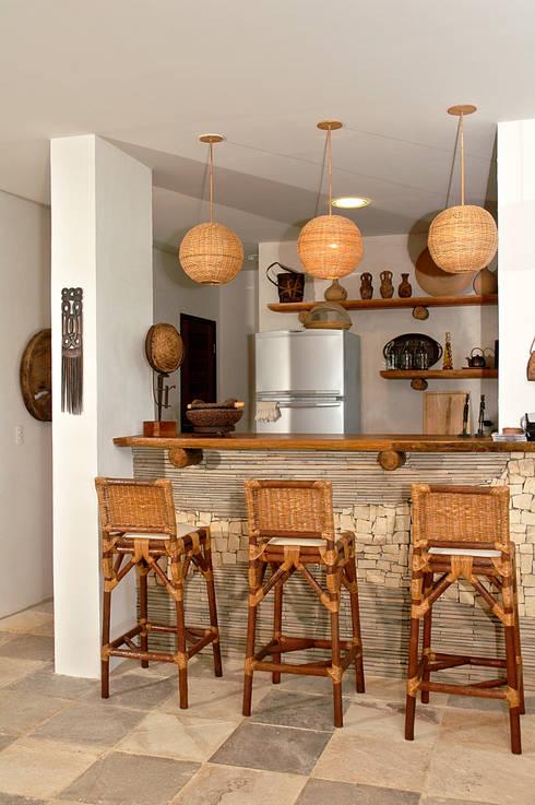 15 paredes con lajas de piedra para tu casa - Pared interior de piedra ...