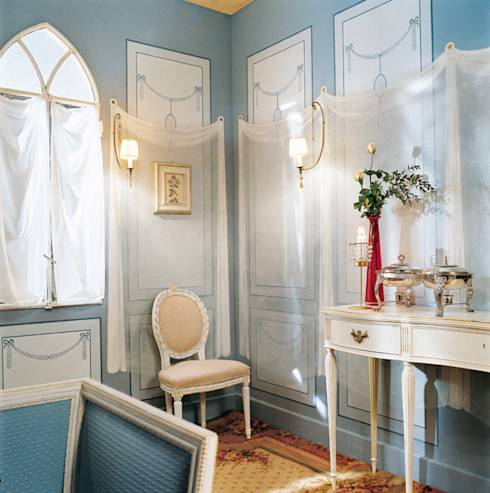 Como modernizar tus paredes sin arruinarte 14 ideas - Modernizar boiserie ...