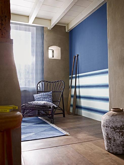 Papel pintado de rayas horizontales o verticales - Paredes rayas horizontales ...