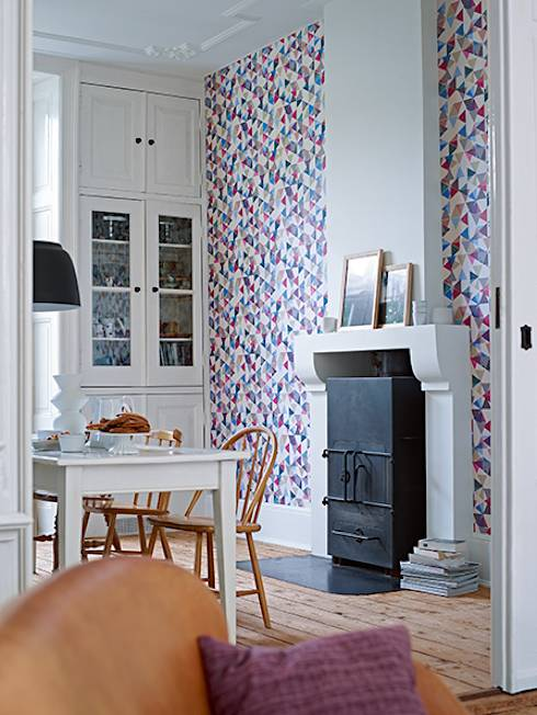 C mo hacer que una pared sea la protagonista de la casa - Disbar papeles pintados ...