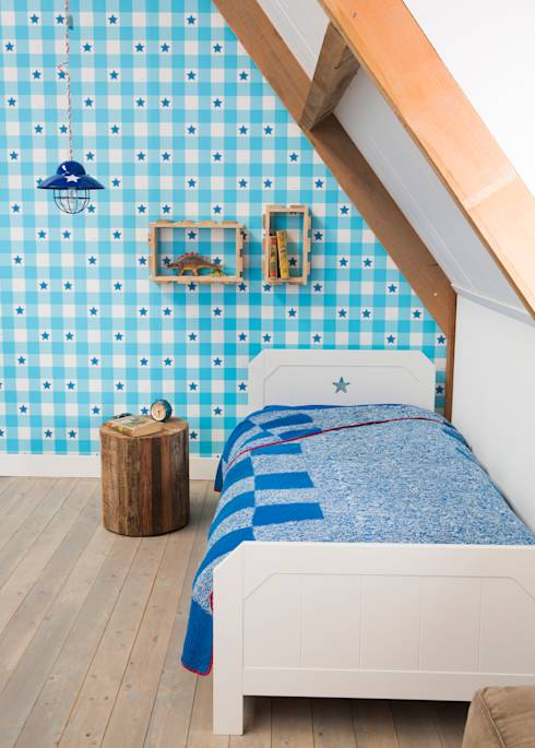 Kinderkamer Met Lief Behang : Behang kinderkamer lief merken met te ...