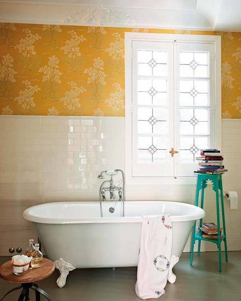 eine vintage wohnoase in madrid. Black Bedroom Furniture Sets. Home Design Ideas